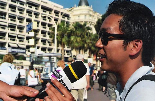 Interview in Cannes