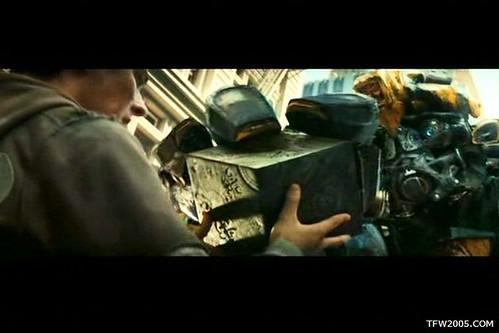 Pelicula de Transformers: Bumblebee cubo de energon