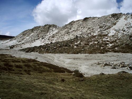 A beach, 4800m high