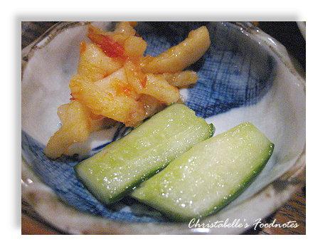 大福和風食堂套餐小菜