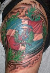 Tatuaje de George Perez 2