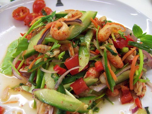 Crazy good and pretty Thai salad