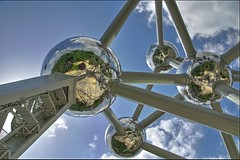 The Sky is the Limit (/\rja|\|) Tags: sky pentax brussel atomium hdr arjan realistic 3xp fdrtools k10d pentaxk10d