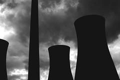 Adventure In Concrete 18 (doctor.boogie) Tags: chimney blackandwhite bw concrete mono blackwhite utata:project=justblack