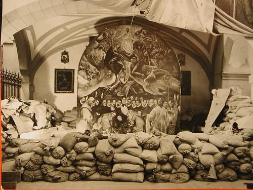 El Entierro del Conde de Orgaz, protegido contra los bombardeos