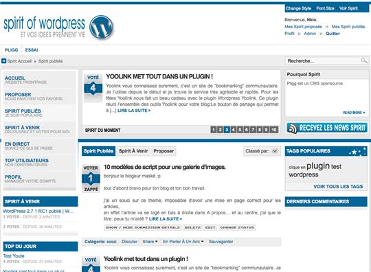 spirit of wordpress