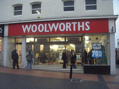 Last day of Woolworths! (Elysia in Wonderland) Tags: red sign shop stairs last town store day steps cumbria closing nan woolworths elysia 70off woolies barrowinfurness lastdaytoday