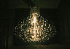 acrylic chandelier (angryartisan) Tags: lighting original paris milan london tokyo design crazy industrial technology prague chairs housewares tables lamps textiles seating brilliant inspiring materials practical talented architectual hypothetical reuse newmaterials mindblowing reinvent reinvented reusable fastproductionprocess