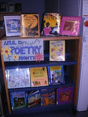King Amigos Poetry (meliroo) Tags: display schoollibrary poetrymonth kingamigos