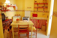 Our kitchen in Corniglia