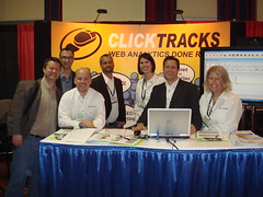 ClickTracks Team at SES NYC