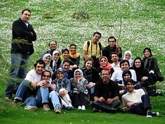 Smiling Flickrites on Green & White of Spring (Hamed Saber) Tags: friends geotagged persian flickr meetup iran persia saber gathering iranian tehran  groupshot hamed flickrmeetup shah sadabad tajrish farsi   flickrites  flickies     sadabadpalace      upcoming:event=174756 geo:lon=51420403 geo:lat=35818091 flickr:user=hamedsaber flickr:nsid=44124425616n01