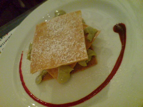 The Petite Green Tea Mille Feuille