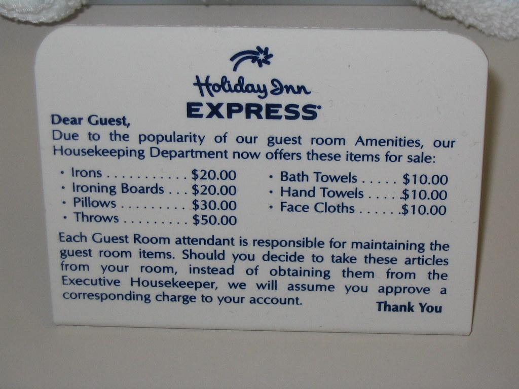 Holiday Inn Express Pricing
