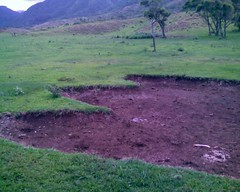 Godzilla footprint 1 at Kualoa Ranch