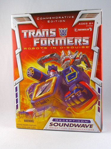 Reissue Soundwave with Ravage and Laserbeak