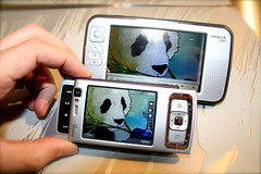 Nokia N800 Displays N95 Flickr Photo