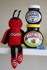 Marmite (Caro's Lines) Tags: toy photo guinness ladybird ladybug marmite msh0907 msh09071