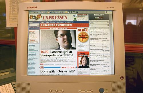 EFIT 2007-04-19, 09:08: Spanar in Expressens nya läsarsatsning. Mycket känns igen.
