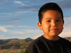 Esmael (Dine' Princess) Tags: boy kids kid son therez nativeboy nativeamericanboy