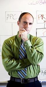 Office man thinking