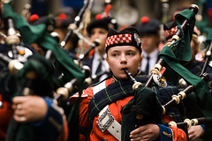 Anzac Day 2007: Young Piper (sidkid) Tags: girl nikon child sydney band scottish australia highland nsw marching bagpipes martinplace anzac tartan 80200 pc2000 auspctagged martinpl militaryband 10faves d80 anawesomeshot anzacday2007 bokehmania mysydneynow