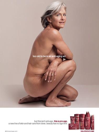 Ad From Dove Pro-Age Campaign