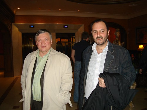 With Anatoly Karpov