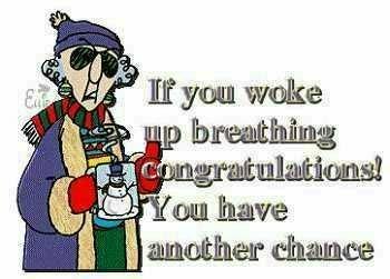 Maxine Breathing