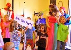 (c) Hilltown Families - Princess Katie & Racer Steve @ Cup & Top