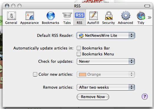 RSS Prefs
