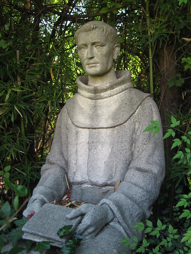 San Fernando Misson - Statue of Fray Fermin Francisco De Lasuen
