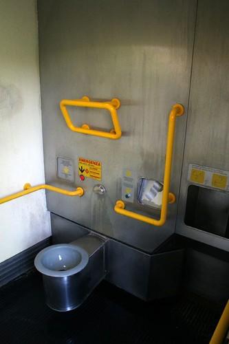 A fancy toilet