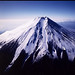 富士山:Mt.Fuji, moutain, night view, 富士山, 山, 夜景, 風景, 空撮, sky, view, night, snow, winter