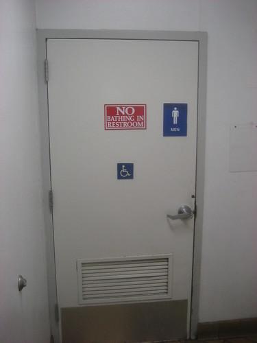Bathroom Etiquette | The People Watcher