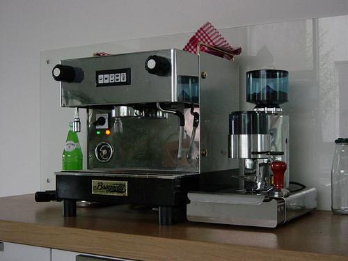 Unsere kleine Kaffeemaschine
