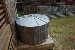 Harvey Sound Access cistern