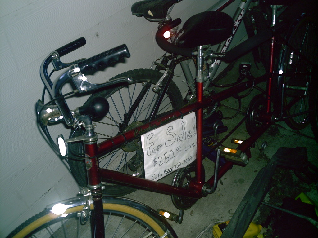 Tandem Bicycle, for sale