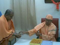 On bengali New Year day 15th April 2007 (16) (HOLY TRIO) Tags: new delhi mission undertaking secretary swami ramakrishna revered shantatmanandaji responcibilites