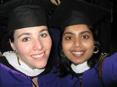 Lara and me (sailorav) Tags: graduation nyu tisch itp avani