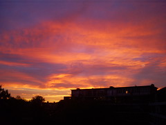 Clouds (Jasper1980) Tags: red sky clouds wolken uitzicht lucht rood zon