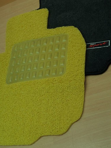 Customised Floor Mats with rubber Heel pad