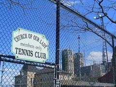 Church of Our Lady - Tennis Club (Royal_Rivers) Tags: church guelph tenniscourt