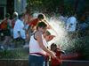 Splash! (olvwu | 莫方) Tags: usa spring orlando florida disney springbreak surprise fl splash epcotcenter jungpangwu oliverwu oliverjpwu olvwu jungpang 莫方 吳榮邦