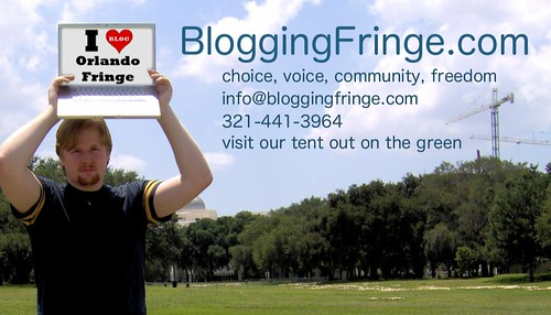 Blogging Fringe Card