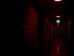 . (Le Cercle Rouge) Tags: urban rot aka rouge tales laranja le unreal rd rood rosso insomniac cercle   rd   roig  czerwony erven krmz insomnie rooi czerwie irrel  carmn   bermeyu  lecerclerouge            insomniaque milanmilanoitaliaitalieitalyhotelredrougerossocrvenocouloircorridorhodniknightfirenocturnedarksombrescuromracnoweirdbizarrestranocudno