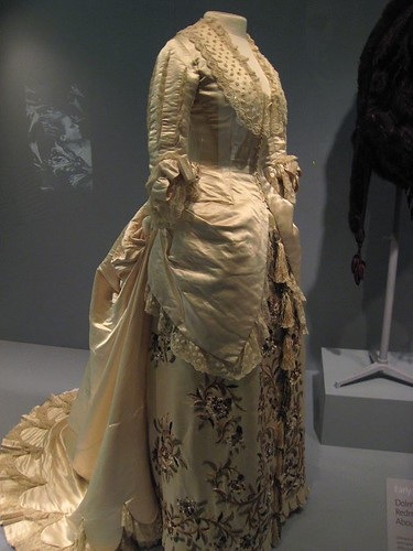 A dress by Charles Worth