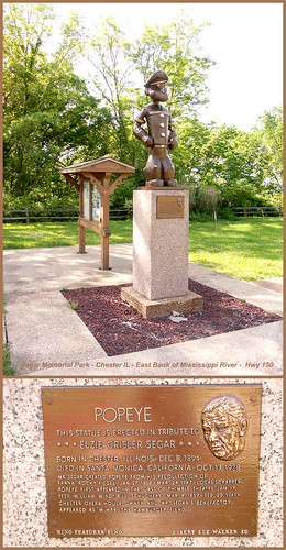 Popeye Statues 5