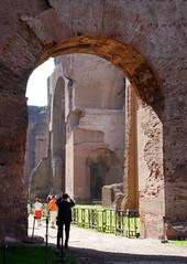 Caracalla (Tnine) Tags: travel rome architecture roman caracalla europe2007