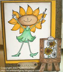 Black-Eyed Susan Artist